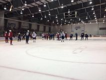 Winnipeg Jets training camp Stock Images