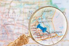 Winnipeg, Manitoba, Canada Stock Photography