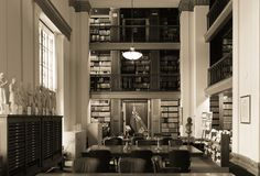 Winnipeg, Manitoba, Canada - 2014-11-21: Interior of Manitoba Legislature library. The library is located in Manitoba Royalty Free Stock Photography