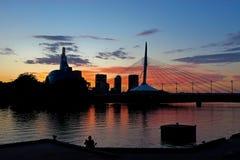 Winnipeg på den bästa ` s fotografering för bildbyråer