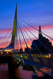 Winnipeg is schitterend Stock Foto's