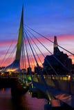 Winnipeg is schitterend stock foto's