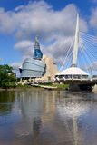 Winnipeg-Skyline Lizenzfreies Stockbild