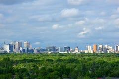 Winnipeg stad royaltyfri fotografi
