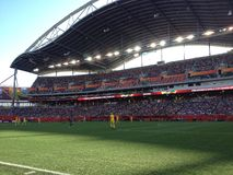 Winnipeg-Stadionsansicht Lizenzfreies Stockfoto