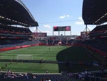 Winnipeg stadium view Royalty Free Stock Photos