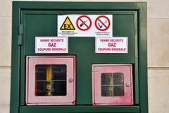 Winnow gas Stock Photos