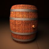 wino barrel Fotografia Royalty Free