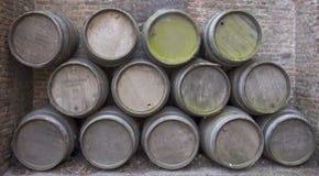 wino barrel Fotografia Stock