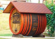 Wino baryłka zdjęcie stock