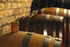 Wino baryłka Obraz Stock