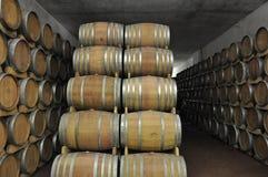 Wino Baryłki obrazy stock