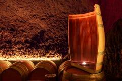Wino baryłki Obrazy Royalty Free