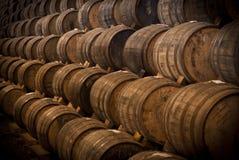 Wino baryłki Zdjęcie Royalty Free