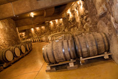 Wino baryłki Fotografia Stock