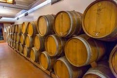 Wino beczki Fotografia Royalty Free