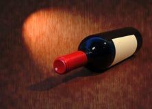 Wino butelka Zdjęcia Royalty Free