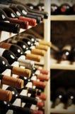 Wino butelki zdjęcia royalty free