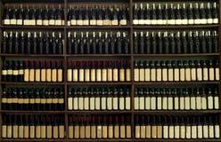 Wino butelki kolekcja Zdjęcie Royalty Free