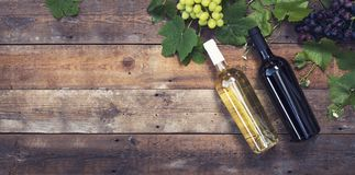 Wino chodnikowiec Fotografia Stock