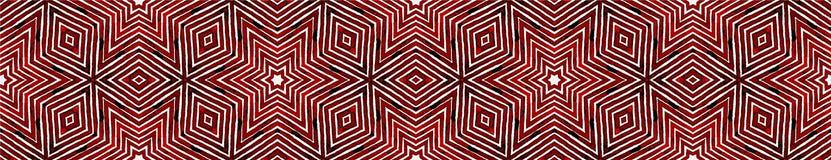 Wino czerwieni Bezszwowa Rabatowa ślimacznica Geometryczny Waterco ilustracji