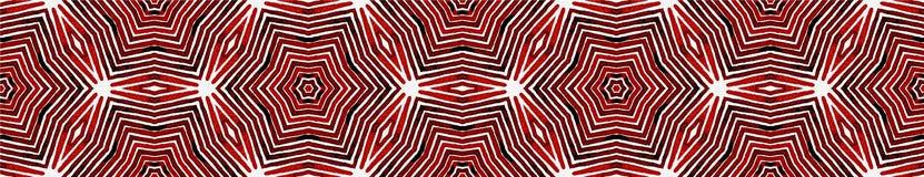 Wino czerwieni Bezszwowa Rabatowa ślimacznica Geometryczny Waterco royalty ilustracja