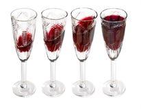 wino czerwone wzgórza Zdjęcie Stock