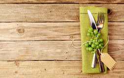 Wino degustaci Cutlery Zdjęcia Stock