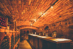 Wino degustacja Zdjęcia Royalty Free