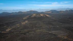 Wino dolina los angeles Geria, Lanzarote, wyspy kanaryjska zdjęcie wideo