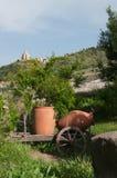 Wino dzbanek zdjęcie royalty free