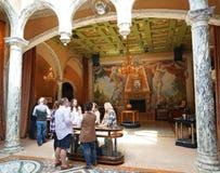 Wino entuzjasty kosztują wino przy Del Dotto Nieruchomość wytwórnią win Obraz Royalty Free