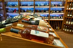 Wino galeria Zdjęcia Stock