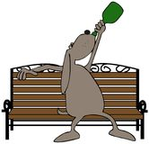 Wino-Hund Lizenzfreies Stockfoto