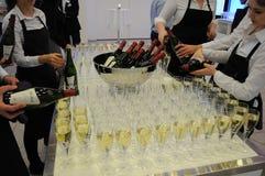 Wino i szampan Zdjęcia Royalty Free