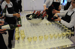 Wino i szampan Fotografia Stock