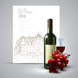 Wino i winorośl Zdjęcia Royalty Free