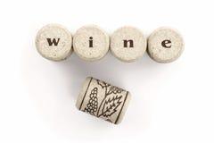 Wino korek Zdjęcia Stock