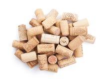 Wino korków rozsypisko Zdjęcia Royalty Free