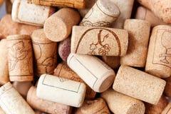 Wino korki Obraz Royalty Free