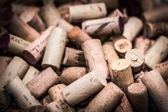 Wino korki obrazy royalty free