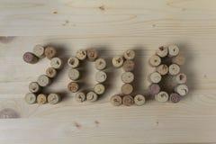 Wino korkuje zbliżenie 2018 obrazy royalty free