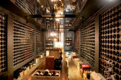 Wino loch przy Casa Loma Toronto Fotografia Royalty Free