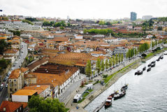 Wino lochy w Porto, Portugalia Obraz Royalty Free