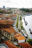 Wino lochy w Porto, Portugalia Zdjęcia Royalty Free