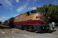 Wino pociąg w Napie, Kalifornia Fotografia Royalty Free