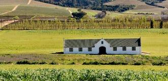 Wino Rolny składowy budynek Zdjęcia Royalty Free