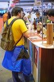 Wino rynku koniaka smaczny Francuski brandy obraz royalty free