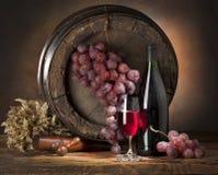 Wino skład Zdjęcie Stock