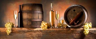 Wino skład Obraz Royalty Free
